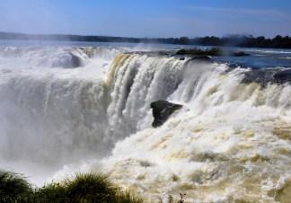15. Top of Garganta del Diablo, Iguazú-6 Feb 2013