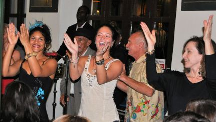 85. Kendall and Kate dancing with singers-Buena Vista Social Club-01-04-13-B