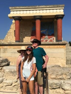 Anne-Anna-Bob at Knossos