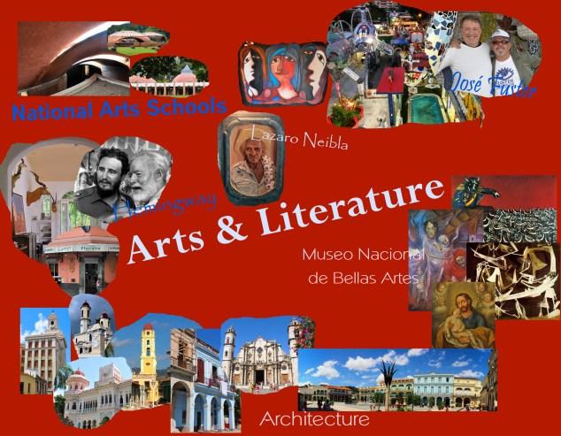 Arts & Lit collage