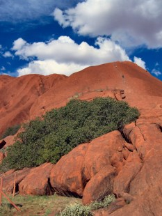 Ayers Rock climbing track 5-7-07