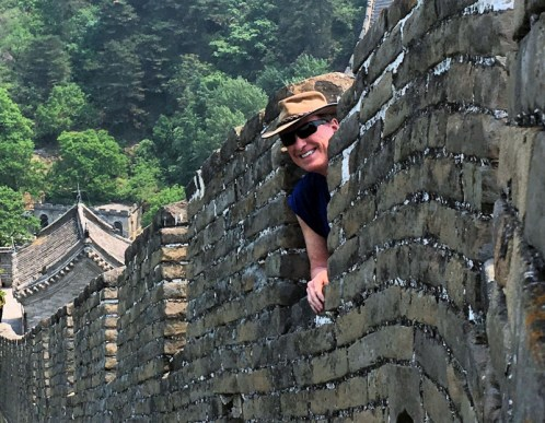 Bob at Great Wall-5-18-2016