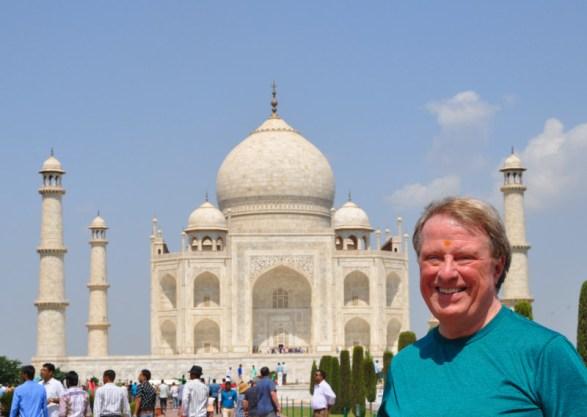Bob at Taj Mahal -9-27-14