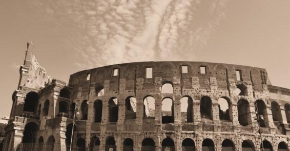 Colosseum - classic view - 10-22-13-sepia