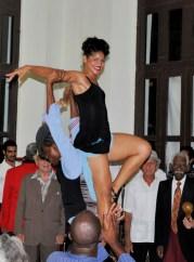 Dancer at Buena Vista Social Club - 6-29-12