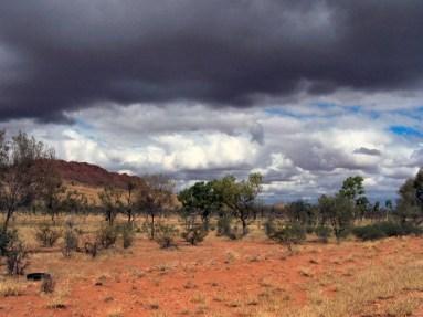 Desert Storm, near Alice Springs 5-10-07