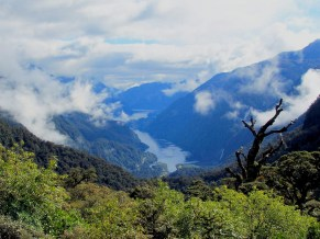 Doubtful Sound from Wilmot Pass, Fiordland NP 4-15-07