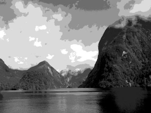 Doubtful Sound - West Arm, Fiordland NP-1-b 4-15-07