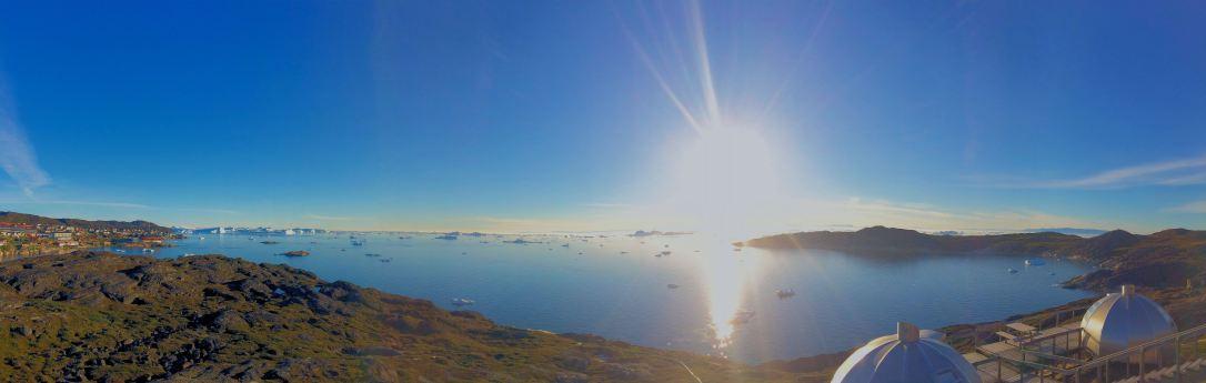 G18a. Ilulissat White Nights panorama-7-11-14