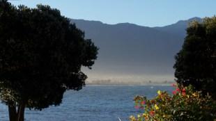 Haze over Kaikoura Bay - 3-30-07
