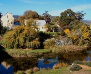 Millhouse on the Bridge, Coal River, Richmond, Tasmania 5-5-07