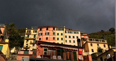 Morning View from our window, Riomaggiore - 11-10-13