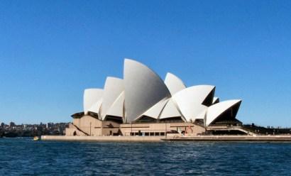 Sydney Opera House from Circular Quay 5-23-07