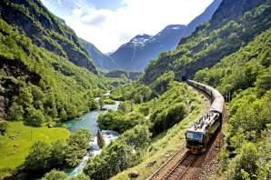 Flamsbana railway