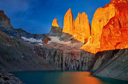 Torres del Paine-sunset