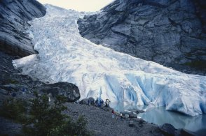Briksdal Glacier-1