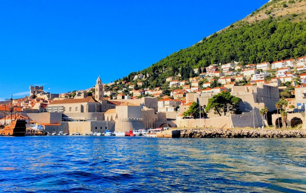 Dubrovnik Old Town from the Adriatic