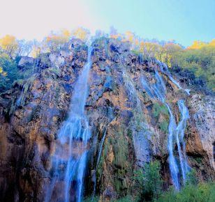 Veliki Slap-Big Falls - Plitvice Lakes